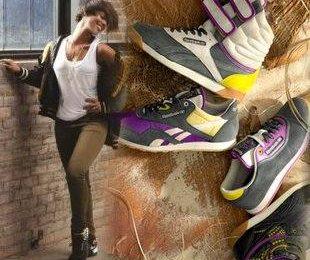 Алисия Кейс для бренда одежды Reebok