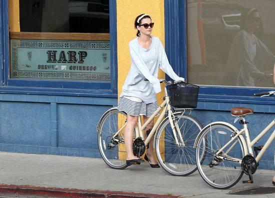 Звезды на велосипедах
