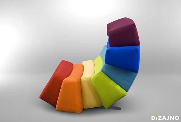 Дизайнерская мебель - необычное кресло
