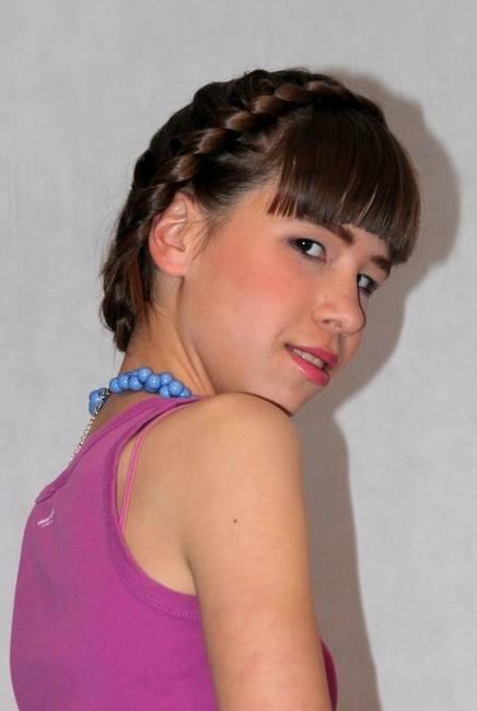Метаморфозы подростков: Ася, 13 лет