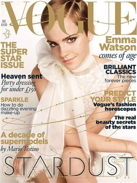 Работа Эммы Уотсон для Vogue UK