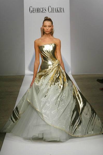 Свадебное платье Серены ван дер Вудсен