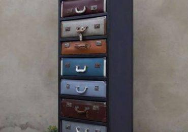 Оригинальная мебель — винтажный шкаф-чемодан