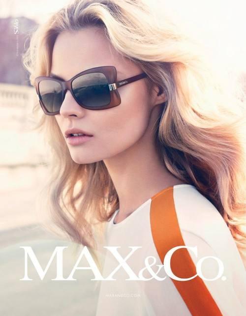 Магдалена Фраковяк в кампании Max&Co