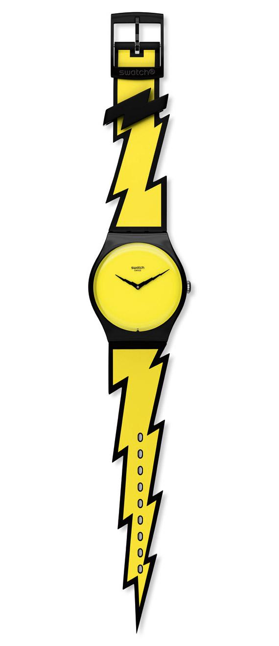 Jeremy Scott для часов Swatch