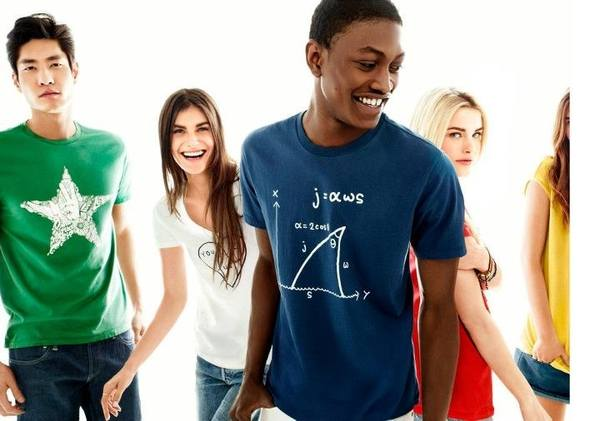 Последняя коллекция футболок Gap