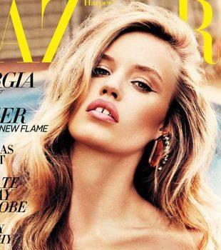 Сексуальная Джорджия Мэй Джаггер в Harper`s Bazaar