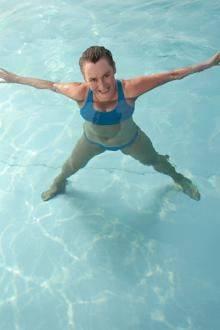 Аква гимнастика для похудения