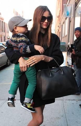 Миранда Керр — стильная мама