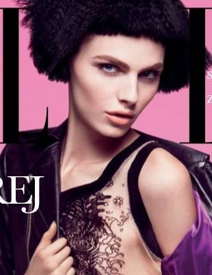 Андрей Пежич на обложке Elle