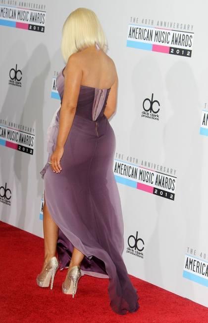 Кристина Агилера на церемонии AMA 2012