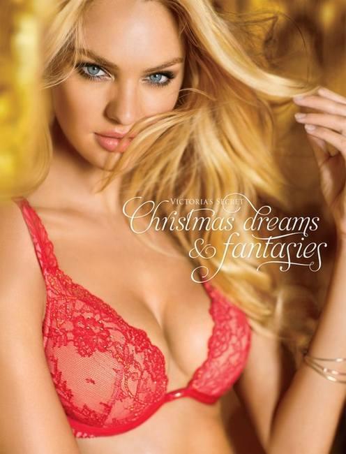 Новогодняя коллекция нижнего белья Victoria `s Secret