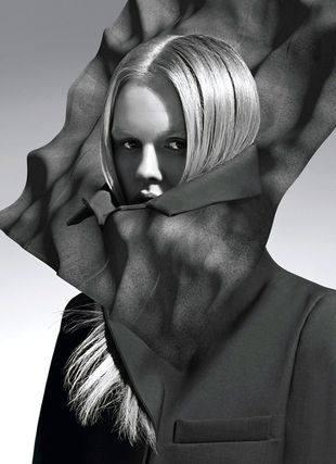 Магда Роман на обложке журнала Label