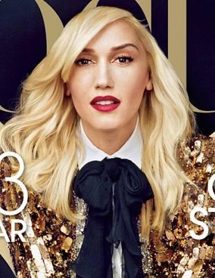 Гвен Стефани на обложке январского Vogue