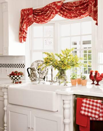 Как выбрать шторы на кухню: оформление окна на кухне