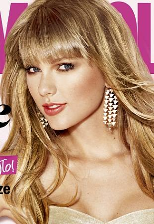 Тейлор Свифт на обложке Cosmopolitan в январе
