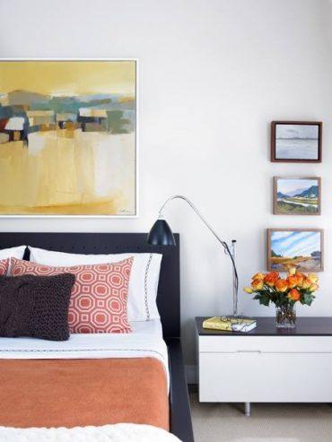 Мебель в современной спальне