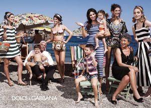 Dolce & Gabbana лето  — полная кампания