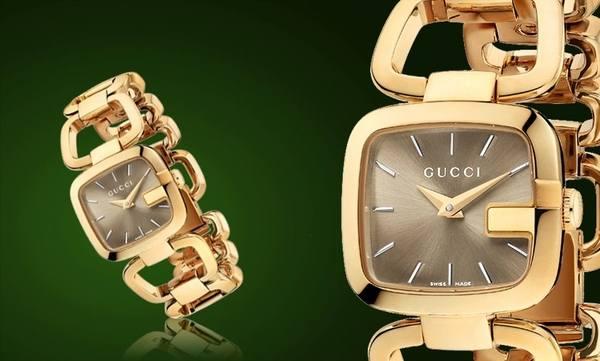 Стильные часы Gucci