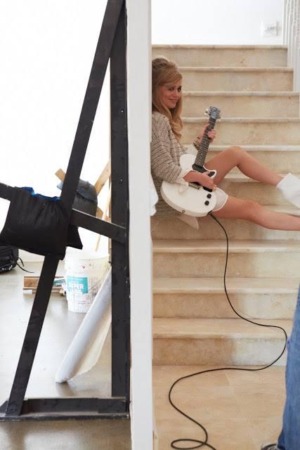Джорджия Мэй Джаггер позирует для H&M Rock'N'Roll Mansion