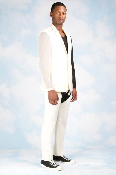 Мужская трикотажная одежда от Йоко Оно