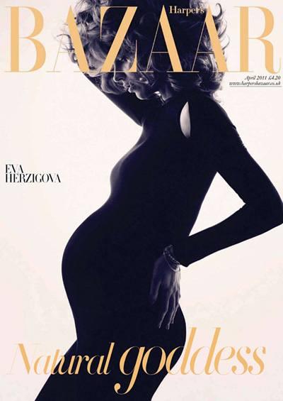 Фотосессия беременной Евы Герциговой