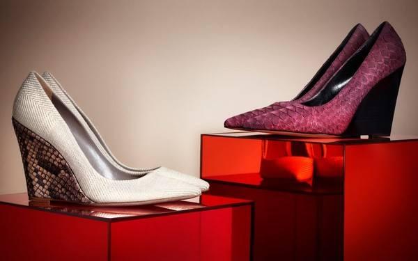 Сумки и обувь на лето от Burberry Prorsum