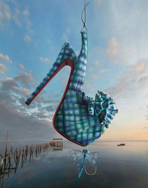 Сказочная рекламная кампания от Christian Louboutin
