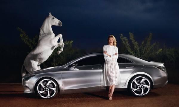 Карли Клосс для Marcedes-Benz