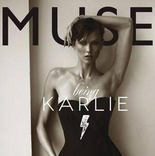 Три модели на обложках журнала Muse