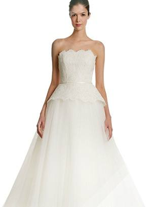 Свадебные платья Carolina Herrera для осени