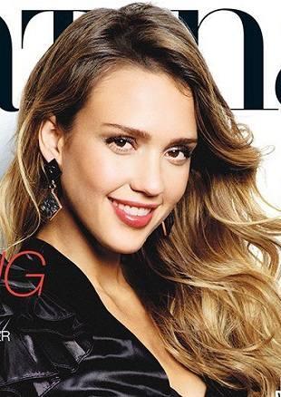 Сексуальная Джессика Альба на обложке журнала Latina