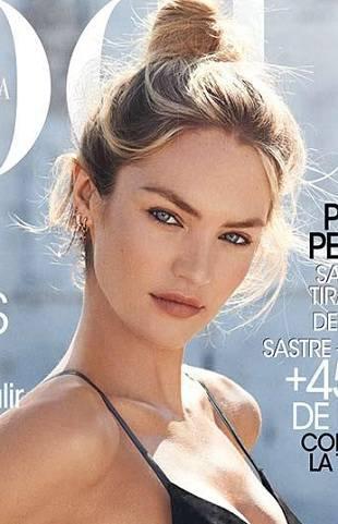 Кэндис Свейнпол на обложке Vogue Spain