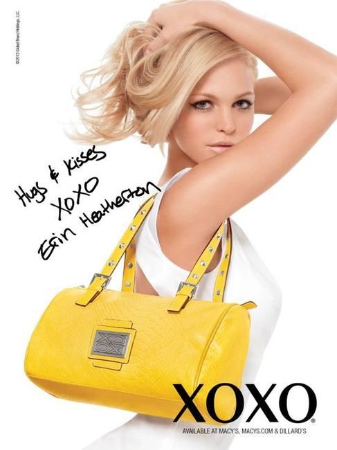 Эрин Хизертон - новое лицо бренда XOXO