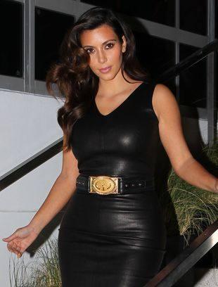 Кожаные платья набирают популярности