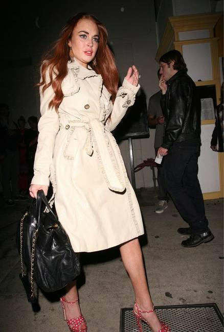 Какую обувь предпочитает Линдси Лохан?