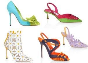 Обувь Manolo Blahnik весна-лето этого сезона