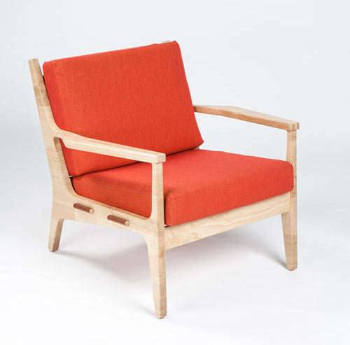 В моде эксцентричная деревянная мебель