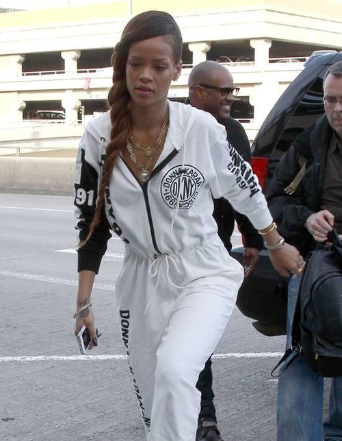 Rihanna с шикарной косой