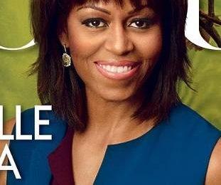 Мишель Обама на обложке Vogue США в апреле