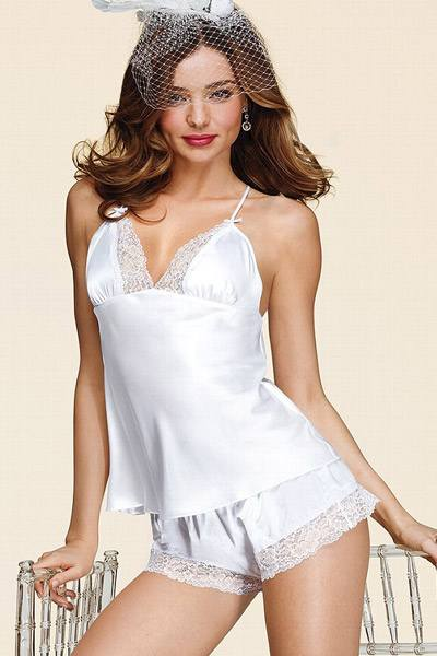 Миранда Керр в свадебной коллекции Victoria`s Secret