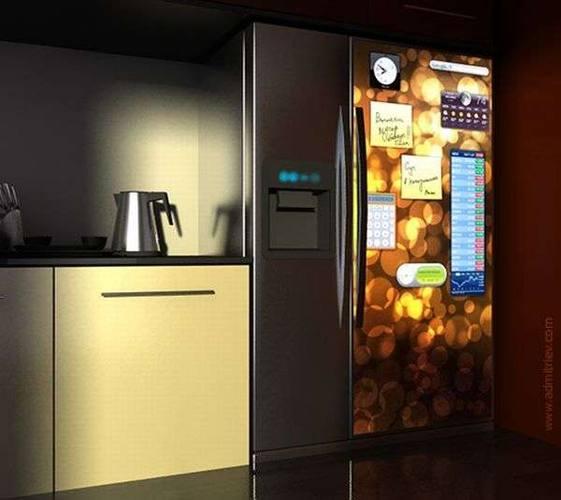 Уже сейчас можно купить сенсорный холодильник