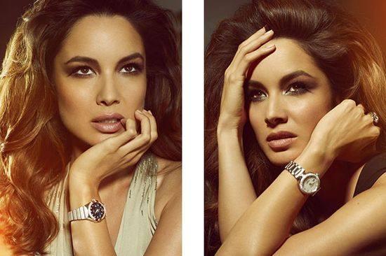 Беренис Марло рекламирует часы Omega