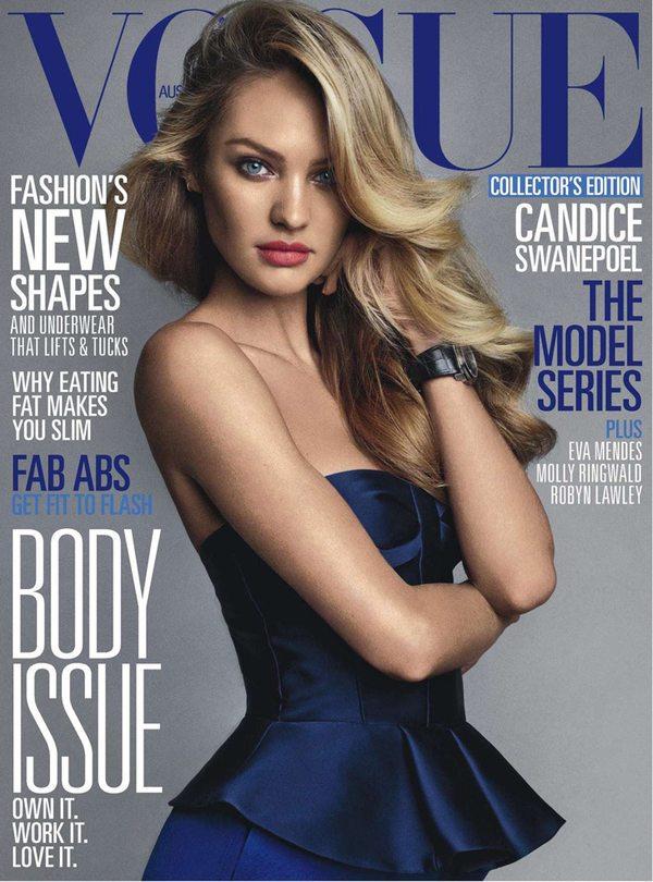 Кэндис Свейнпол в Vogue Австралия