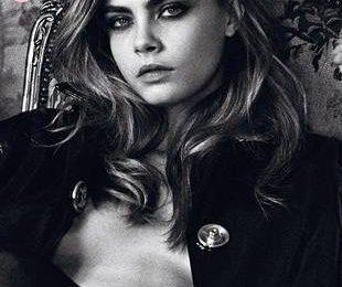 Сексуальная Кара Делевинь на обложке Interview Германия