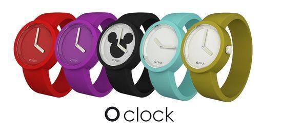 Силиконовые часы от Oclock