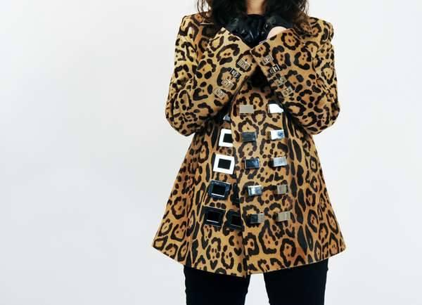 Свирепая куртка с агрессивными замками