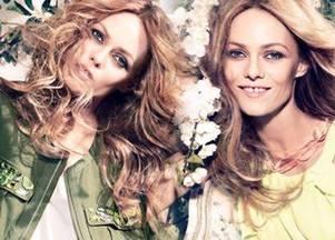 Ванесса Паради в весенней кампании H&M Conscious