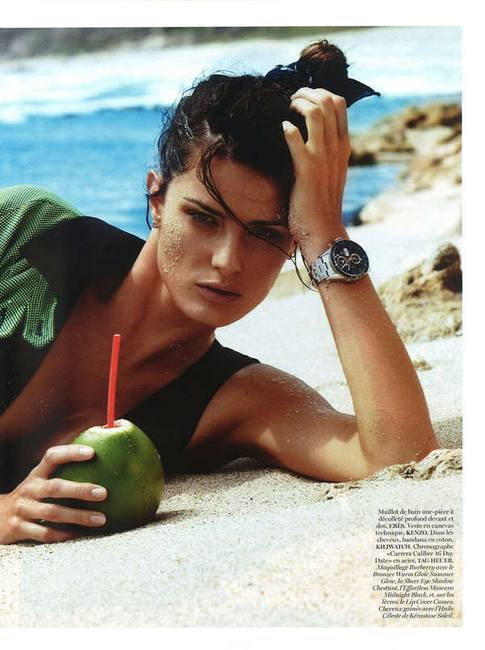 Изабели Фонтана в Vogue Paris