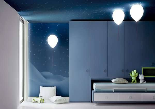 Оригинальный дизайн детской комнаты